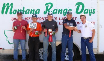 2nd Place Youth Team - Miles City FFA