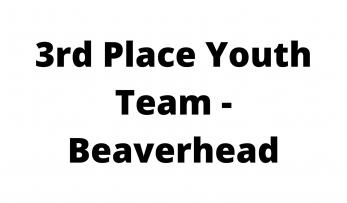 3rd Place Youth Team - Beaverhead