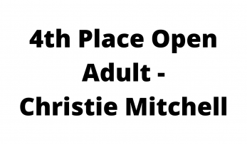 4th Place Open Adult - Christie Mitchell